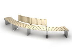 mobilier urbain eco-bancs LAB23