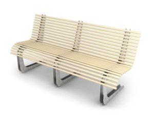 mobilier urbain eco-banc LAB23