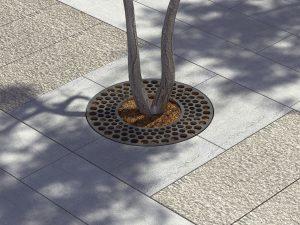 mobilier urbain grille d'arbre LAB23