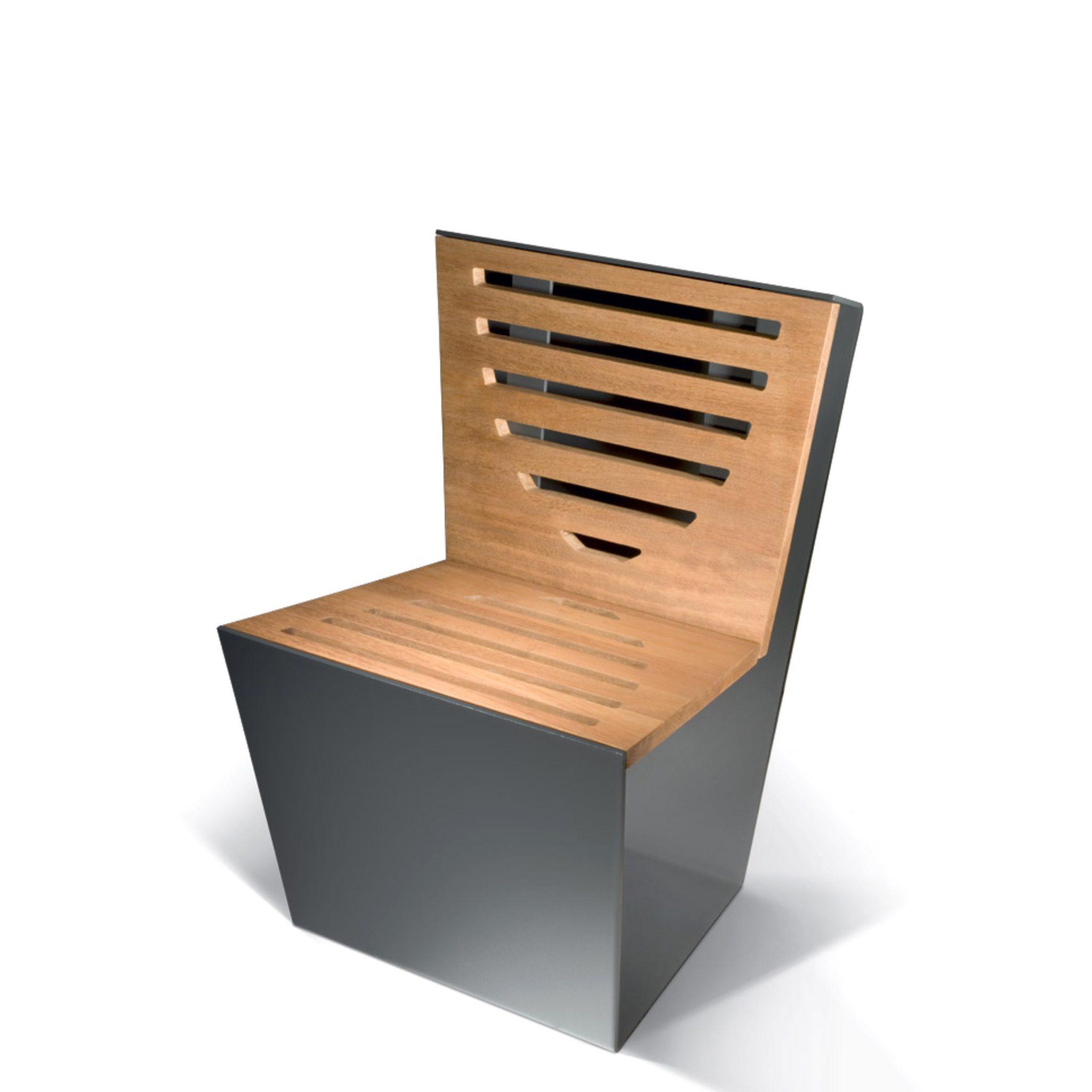 Single sedia arredo urbano LAB23