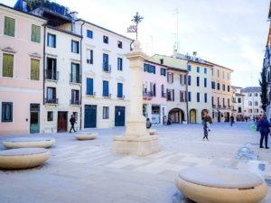 mobilier urbain personalisée LAB23 Ville de Treviso
