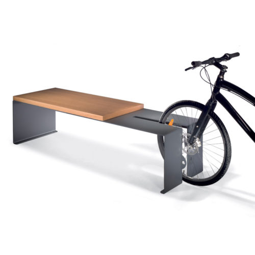 ARREDO URBANO B-CYCLE PANCHINA CON PORTABICI LAB23