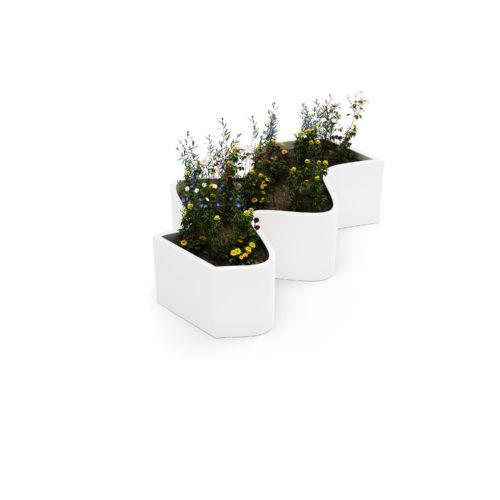 mobilier urbain jardiniere LAB23