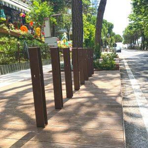 mobilier urbain porte vélo LAB23 - LIGNANO SABBIADORO ITALIE