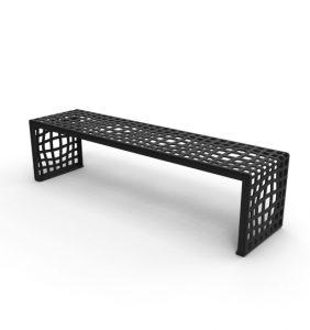 mobilier urbain banquette LAB23 - Designer: Karim Rashid