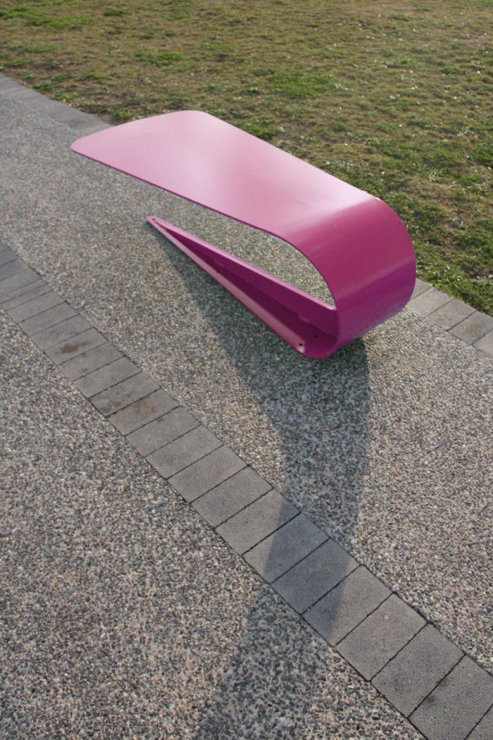 Petalo panchina di arredo urbano LAB23