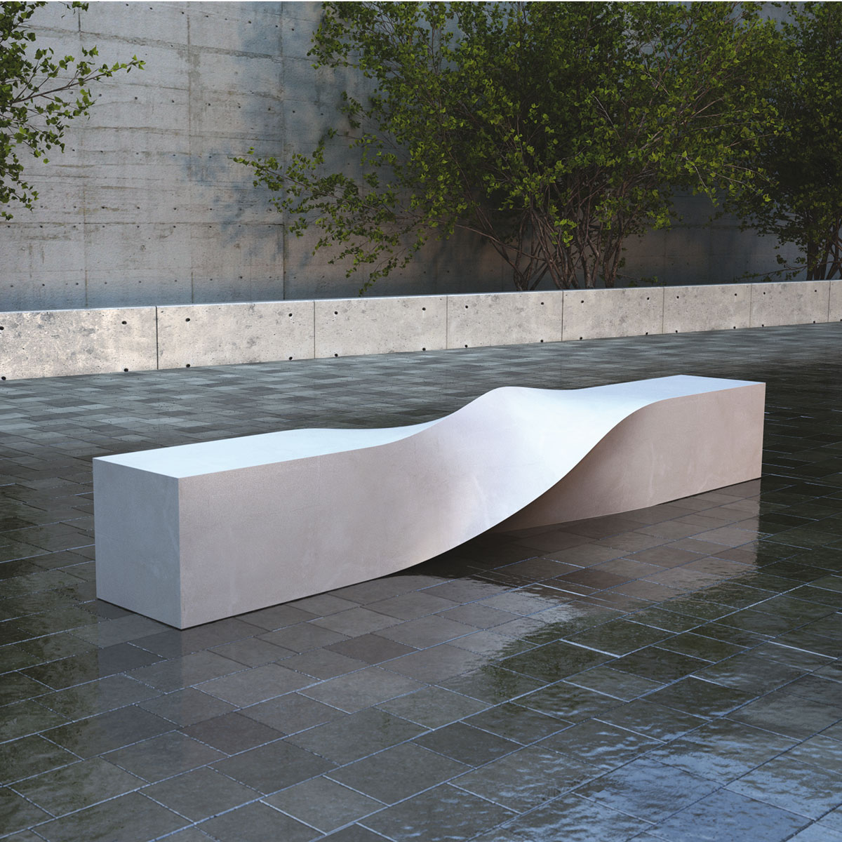 S bench arredo urbano lab23 veronica martinez design