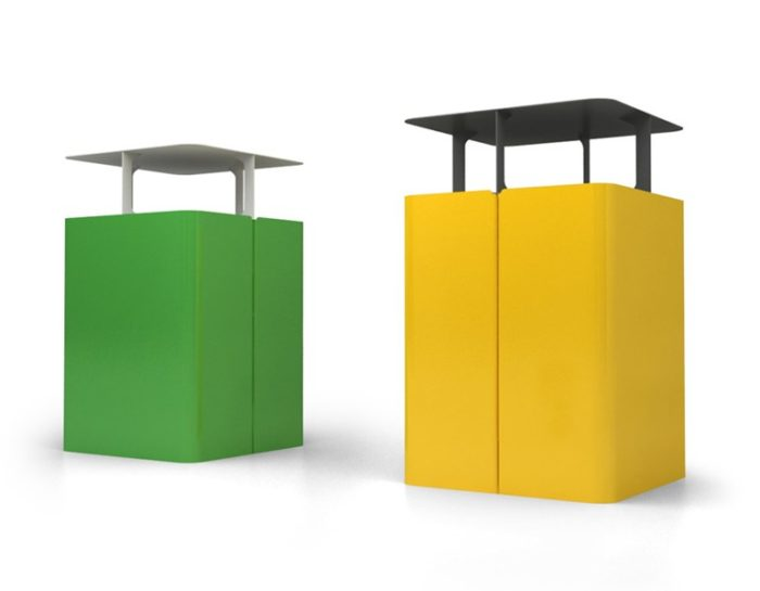 mobilier urbain corbeille LAB23