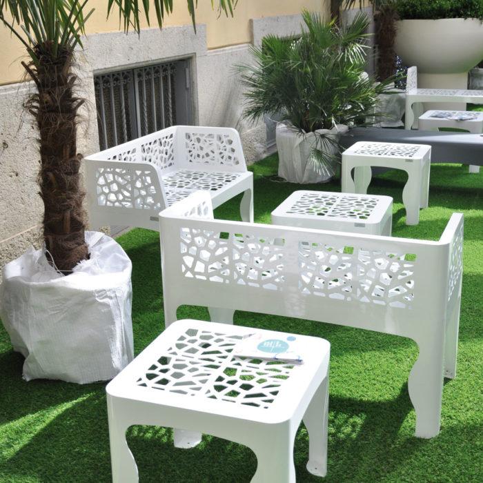 Coral-bench-table ARREDO URBANO LAB23