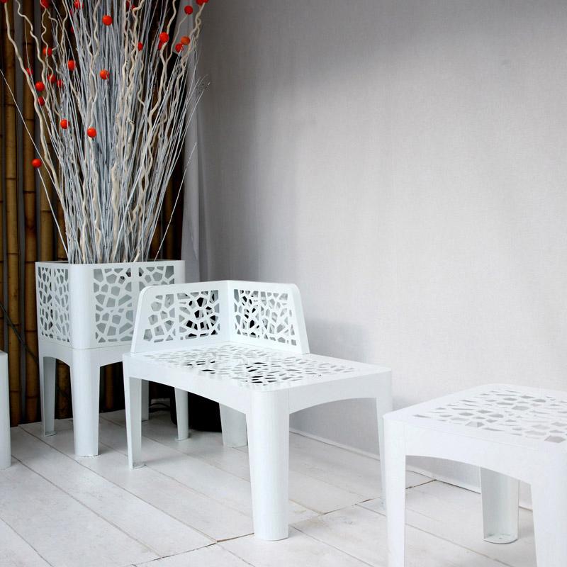 Coral chaise longue ARREDO URBANO LAB23