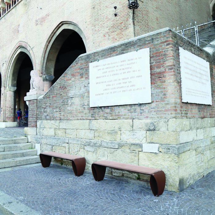 FLUXUS PANCA ARREDO URBANO LAB23 COMUNE DI RIMINI