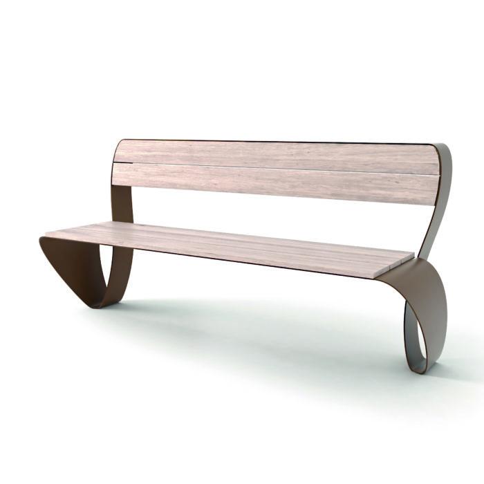 mobilier urbain banc LAB23