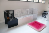 design banc by Karim Rashid for LAB23