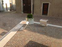 Horizon sedia e Leaves fioriera, ARREDO URBANO LAB23, NAGO TORBOLE, Trento