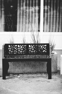 mobilier urbain banc LAB23 - IKANO MALL Suède