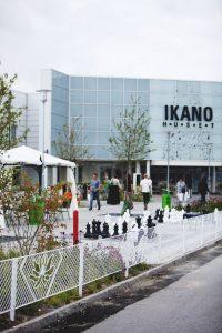 Mobilier urbain LAB23 pour Ikano Mall Suède