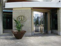 crossed fioriera arredo urbano LAB23 - Hotel Hilton, CANADA
