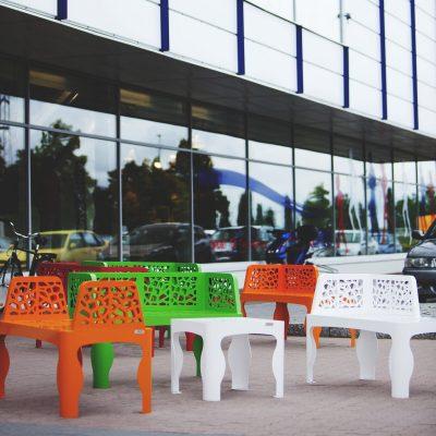 Coral collezione, Ikano Mall, Svezia - ARREDO URBANO LAB23