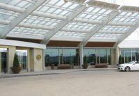 Crossed panchina e fioriera, ARREDO URBANO lab23 - Hotel Hilton Canada