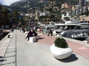 mobilier urbain jardiniere LAB23 - JEAN CHARLES REY - Principauté de Monaco