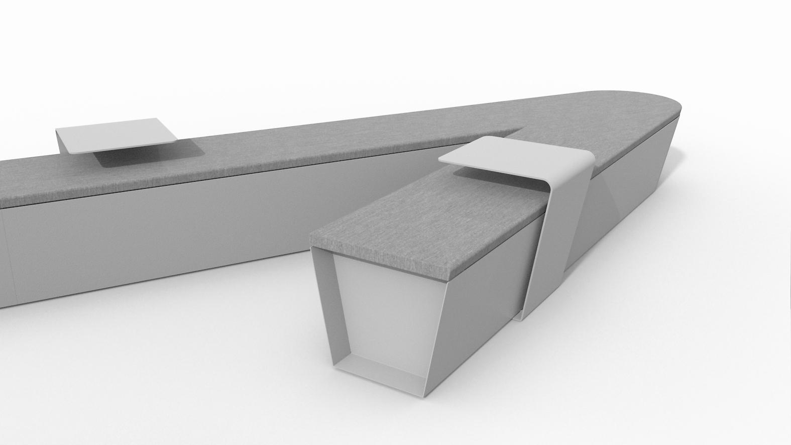 Smart bench arredo urbano panchine intelligenti lab23 for Smart arredo