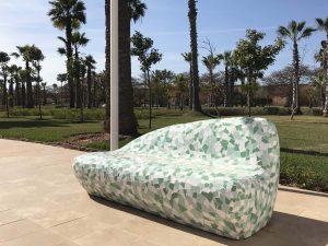 mobilier urbain banc LAB23 - RABAT MAROCCO